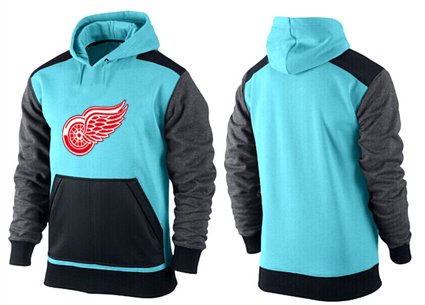 Men Detroit Red Wings Pullover Hoodie 0122