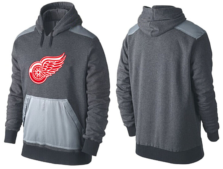 Men Detroit Red Wings Pullover Hoodie 0123