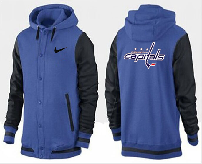 Men Washington Capitals Pullover Hoodie 0141