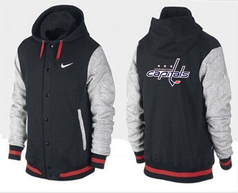 Men Washington Capitals Pullover Hoodie 0143