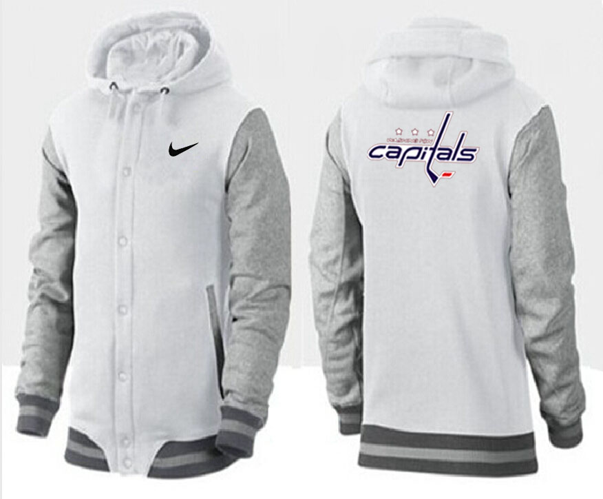 Men Washington Capitals Pullover Hoodie 0144