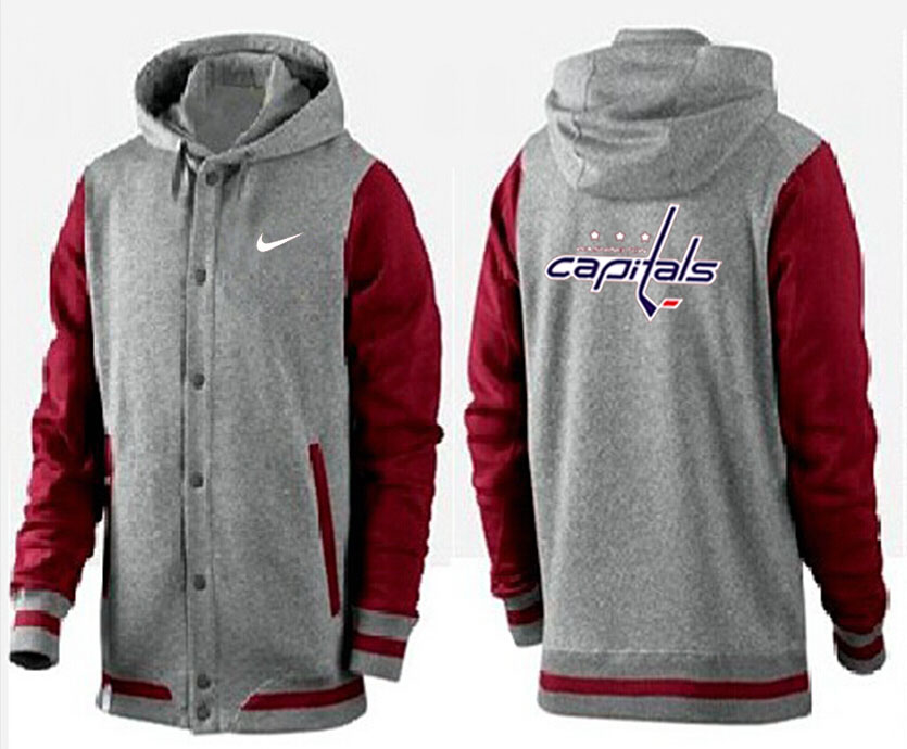 Men Washington Capitals Pullover Hoodie 0145
