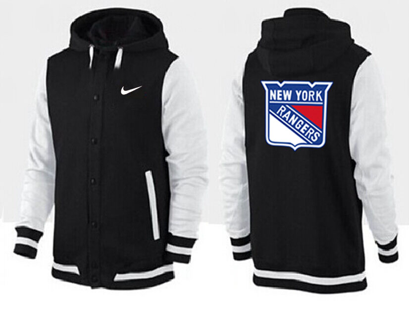 Men New York Rangers Pullover Hoodie 0138