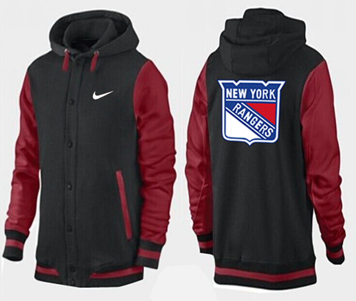 Men New York Rangers Pullover Hoodie 0139