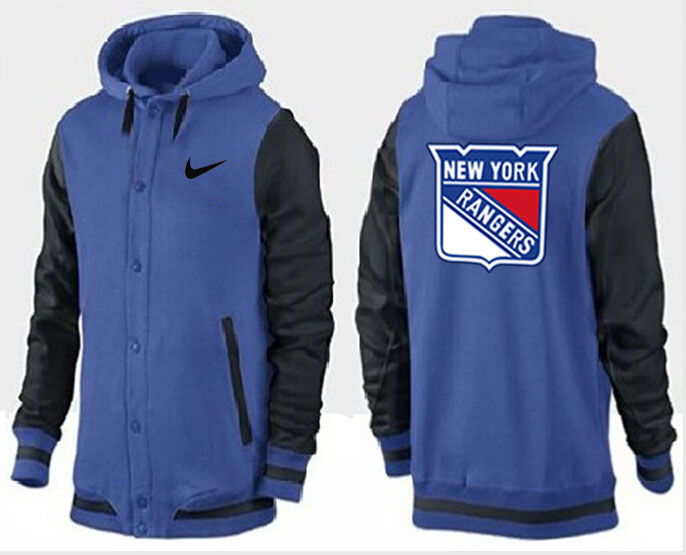 Men New York Rangers Pullover Hoodie 0140