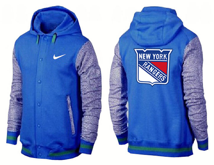 Men New York Rangers Pullover Hoodie 0141