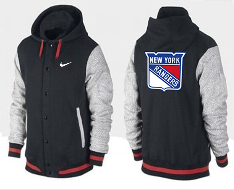 Men New York Rangers Pullover Hoodie 0142