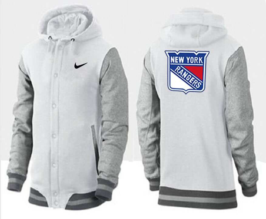 Men New York Rangers Pullover Hoodie 0143