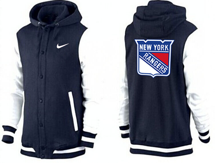 Men New York Rangers Pullover Hoodie 0145