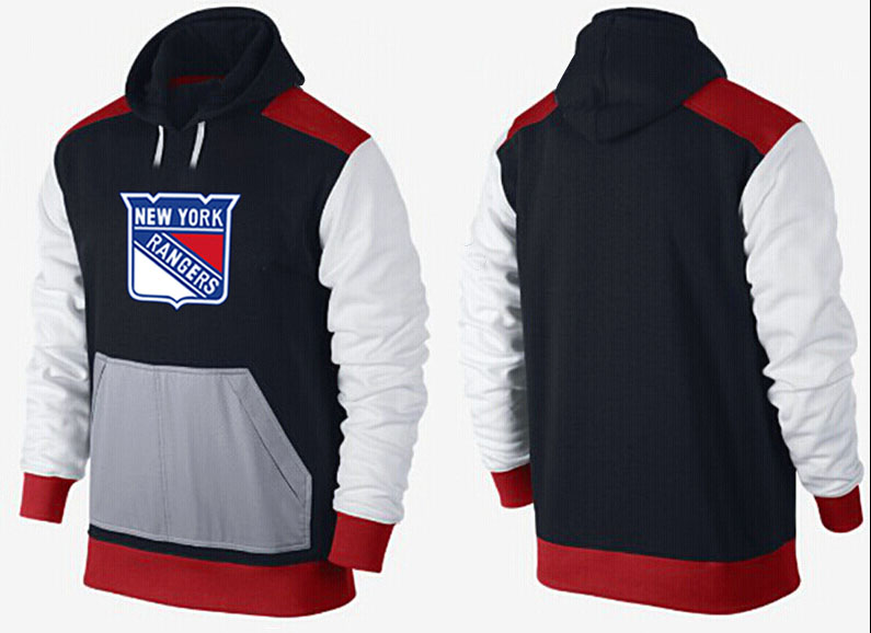 Men New York Rangers Pullover Hoodie 0148