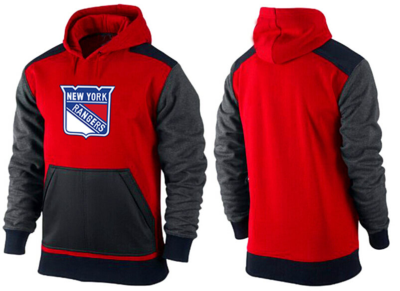 Men New York Rangers Pullover Hoodie 0150