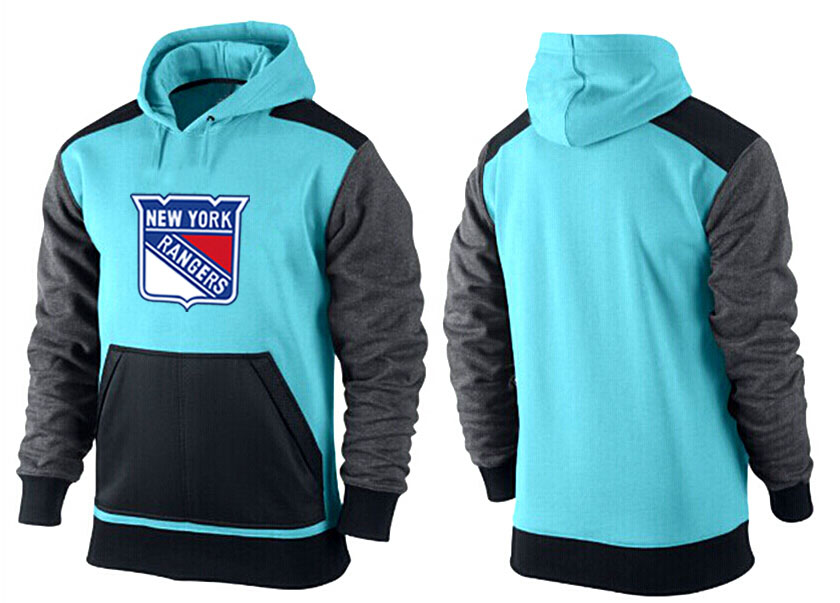Men New York Rangers Pullover Hoodie 0151