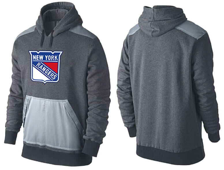 Men New York Rangers Pullover Hoodie 0152