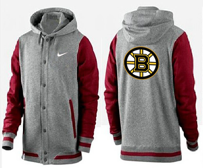 Men Boston Bruins Pullover Hoodie 0144