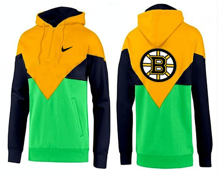 Men Boston Bruins Pullover Hoodie 0146