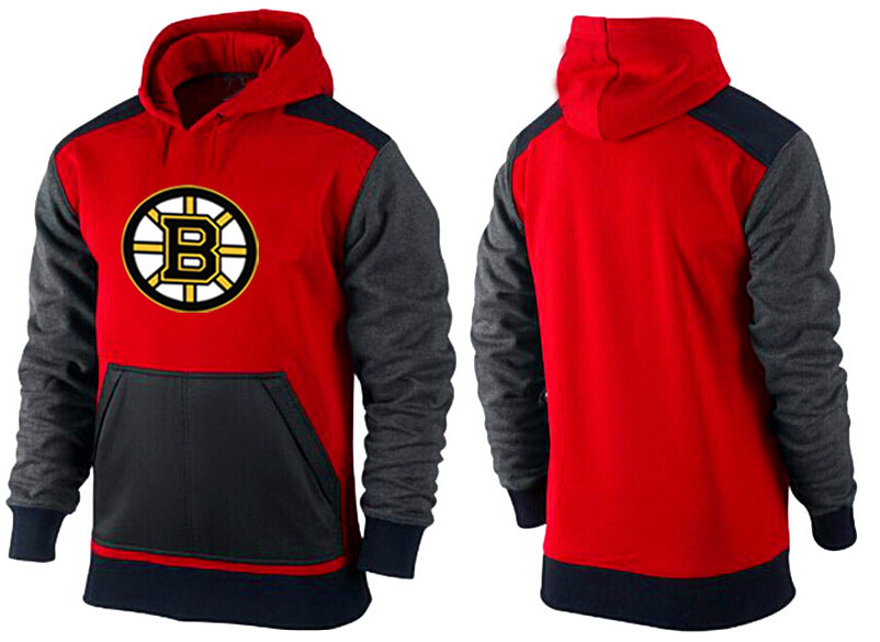 Men Boston Bruins Pullover Hoodie 0150