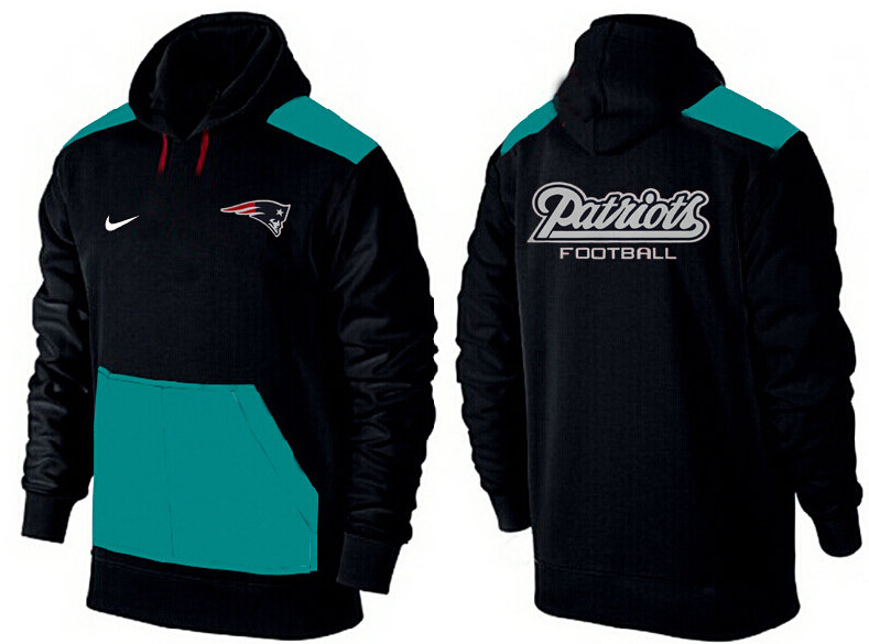 Men New England Patriots Pullover Hoodie 5