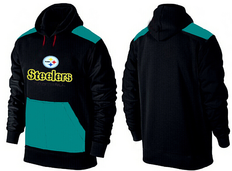 Men Pittsburgh Steelers Pullover Hoodie 9