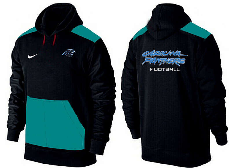 Men Carolina Panthers Pullover Hoodie 2