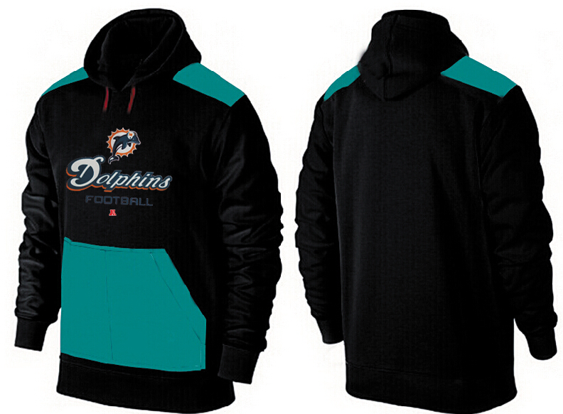 Men Miami Dolphins Pullover Hoodie 10