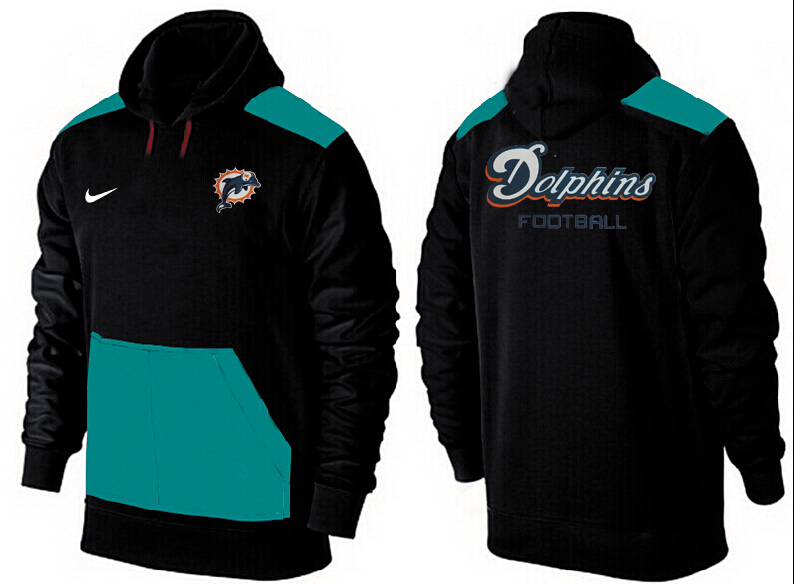 Men Miami Dolphins Pullover Hoodie 14