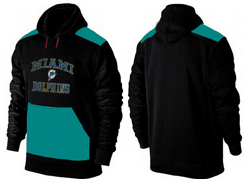 Men Miami Dolphins Pullover Hoodie 5