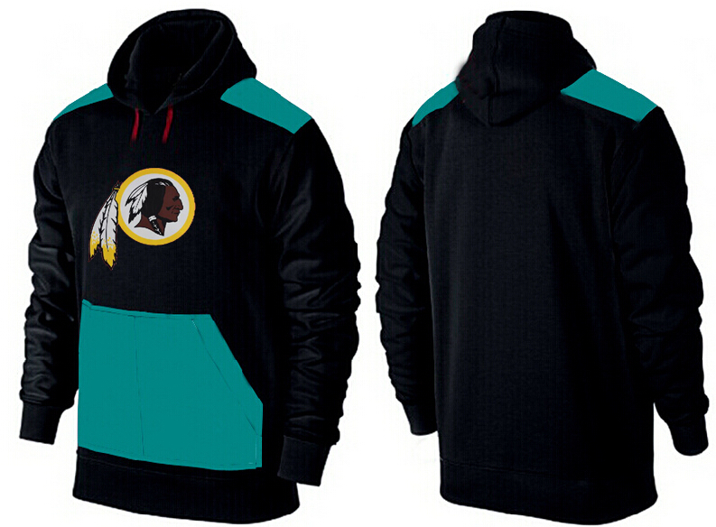 Men Washington Redskins Pullover Hoodie 2