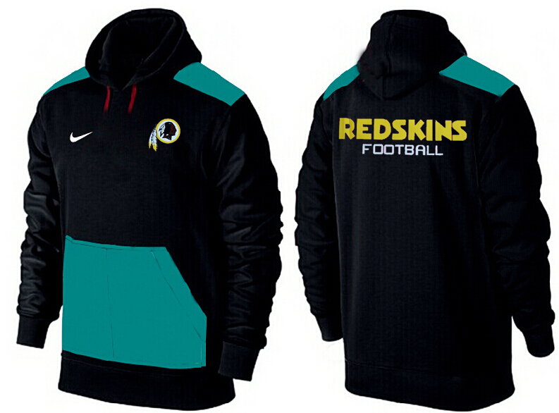 Men Washington Redskins Pullover Hoodie 5