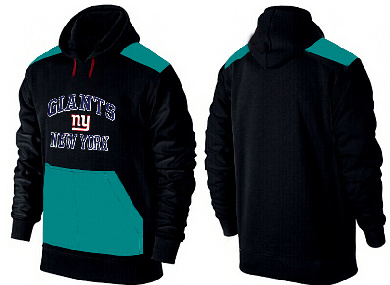 Men New York Giants Pullover Hoodie 1
