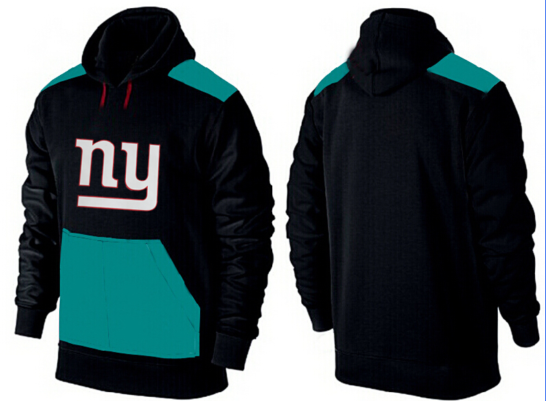 Men New York Giants Pullover Hoodie 2