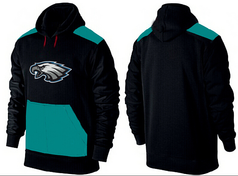 Men Philadelphia Eagles Pullover Hoodie 1