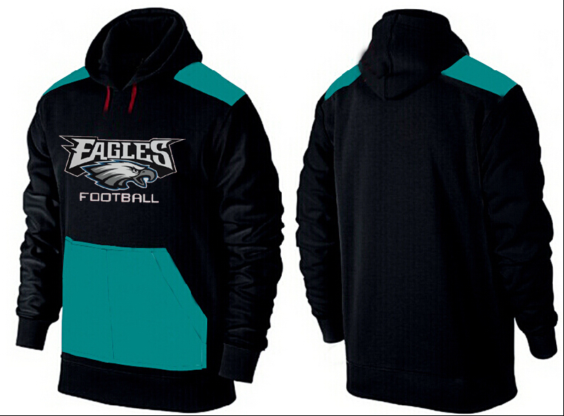 Men Philadelphia Eagles Pullover Hoodie 3