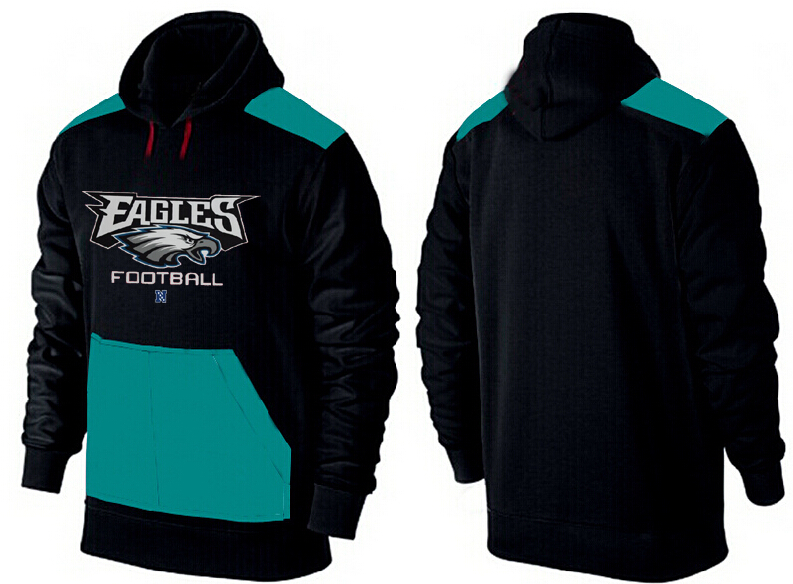 Men Philadelphia Eagles Pullover Hoodie 4