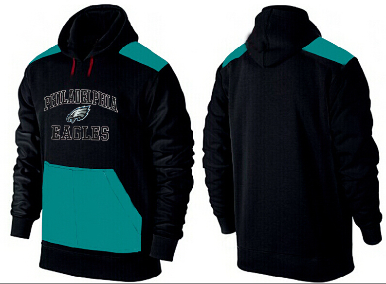 Men Philadelphia Eagles Pullover Hoodie 5