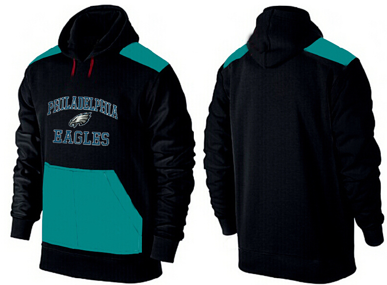 Men Philadelphia Eagles Pullover Hoodie 6