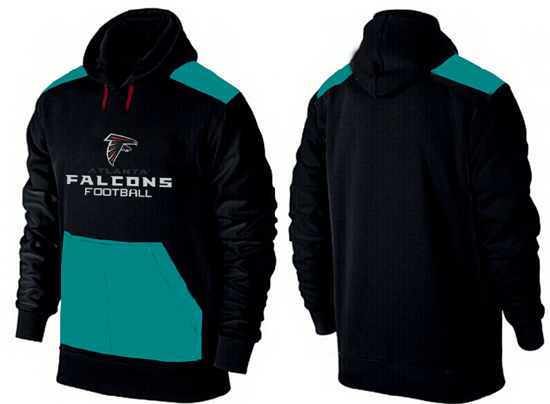 Men Atlanta Falcons Pullover Hoodie 4