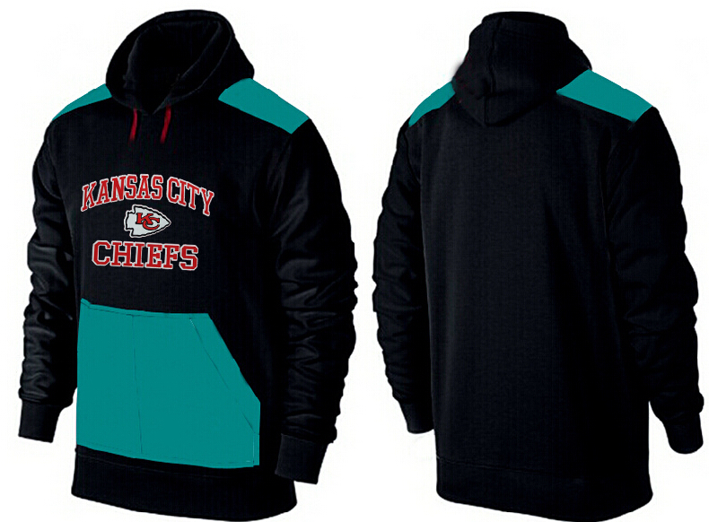 Men Kansas City Chiefs Pullover Hoodie 1
