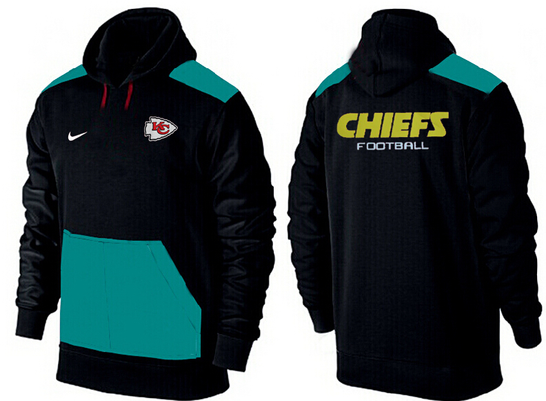 Men Kansas City Chiefs Pullover Hoodie 3