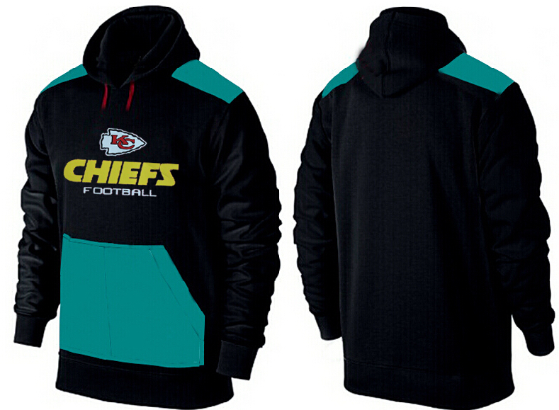 Men Kansas City Chiefs Pullover Hoodie 4