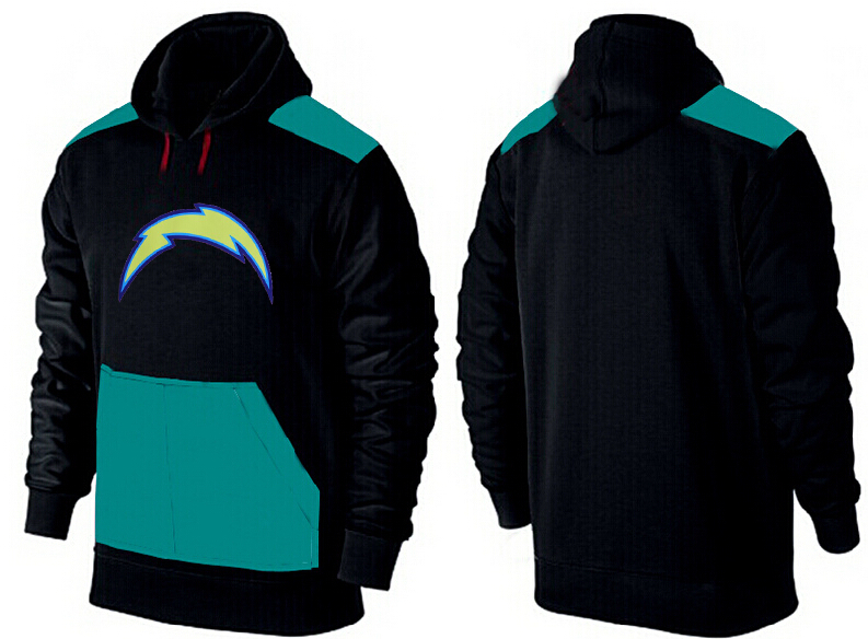 Men San Diego Chargers Pullover Hoodie 1