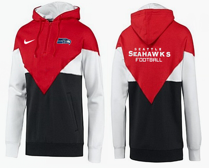 Men Seattle Seahawks Pullover Hoodie 1