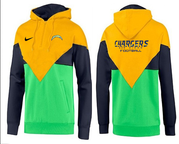 Men San Diego Chargers Pullover Hoodie BBB-3