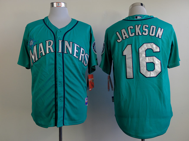 MLB Seattle Mariners 16 Jackson green Jerseys