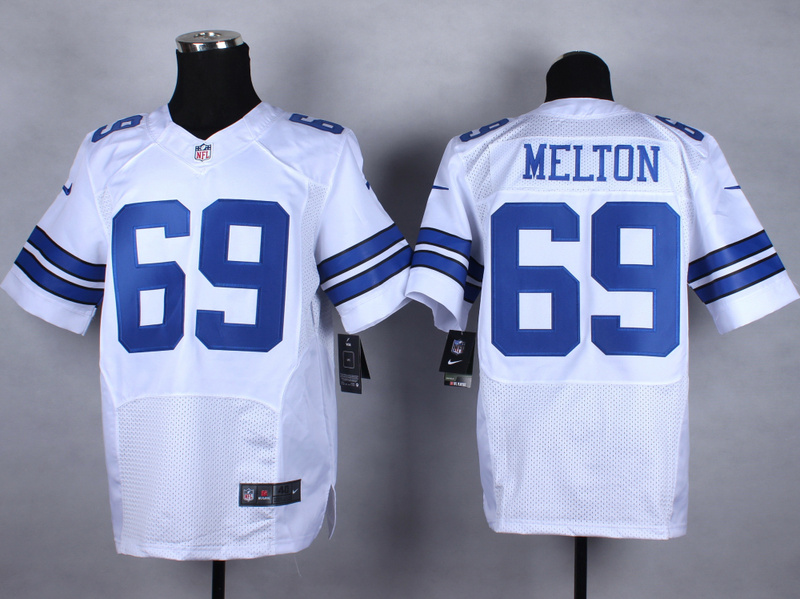 Dallas cowboys 69 melton white Nike 2015 Elite Jerseys