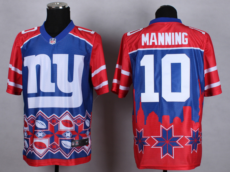 New York Giants 10 manning red 2015 New Style Noble Fashion Elite Jerseys