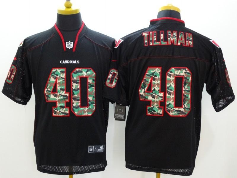 Arizona Cardicals 40 Tillman Black Camo Fashion 2014 New Nike Jerseys