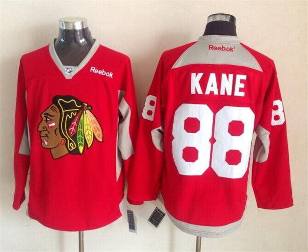 NHL Chicago Blackhawks 88 Patrick Kane Red 2015 Stadium Series Premier Jersey