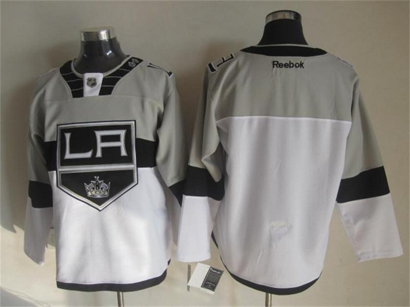 NHL Los Angeles Kings Blank White 2015 Stadium Series Premier Jersey