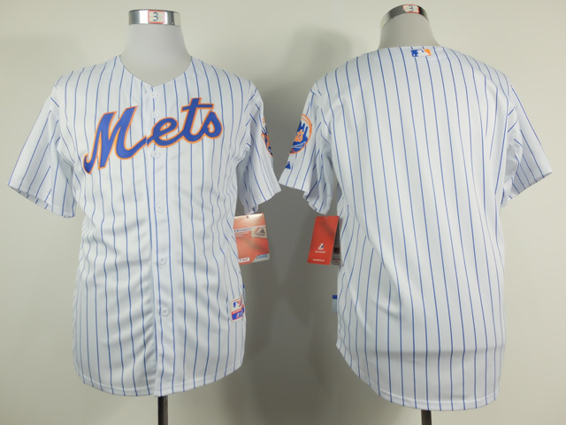 MLB New York Mets Blank white Home NEW 2015 Jersey