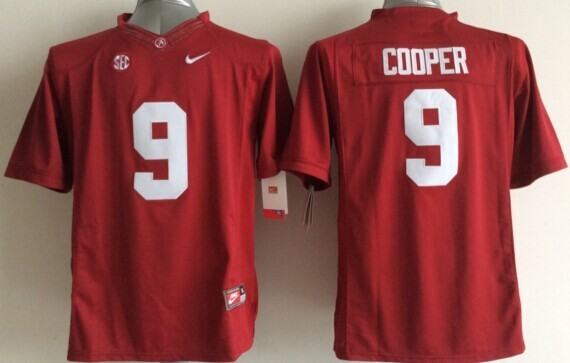 Youth NCAA Alabama Crimson Tide 9 Amari Cooper Red 2015 Jerseys